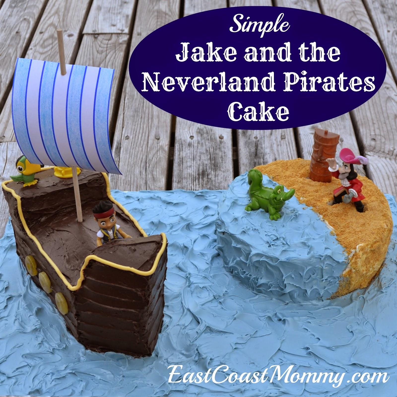 jake and the neverland pirates cake - photo #41