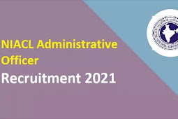 NIACL Administrative Officer Recruitment 2021   300 Posts