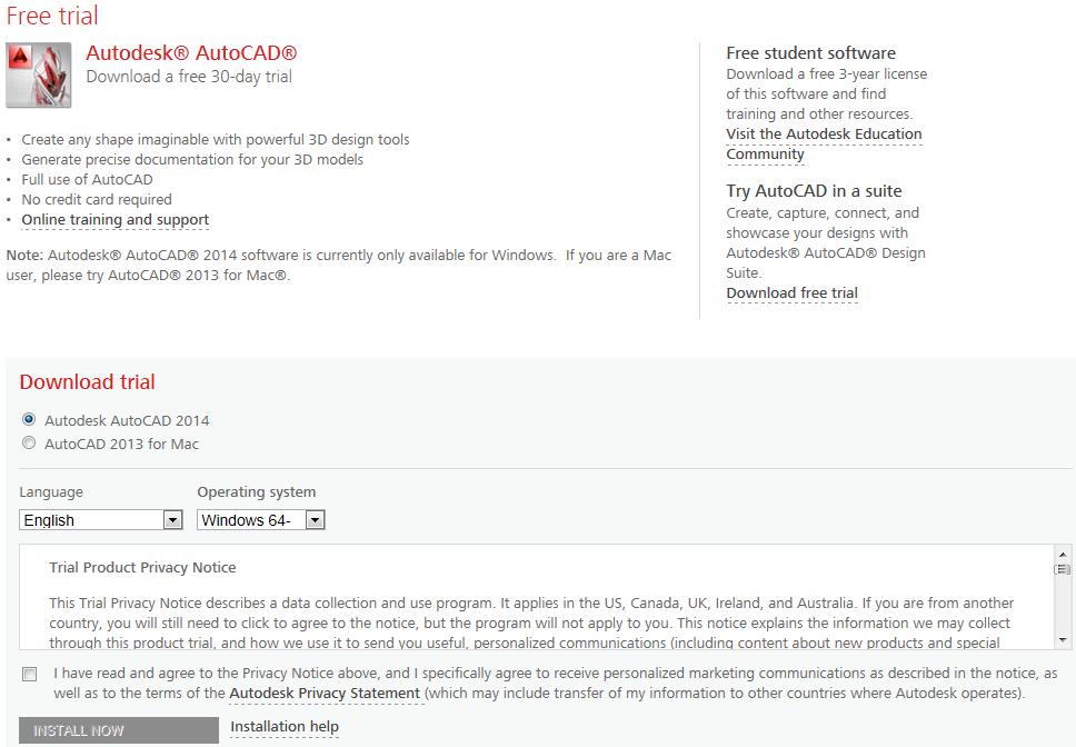 Inventor Topix: Inventor 2014 & AutoCAD 2014 - Free Trial