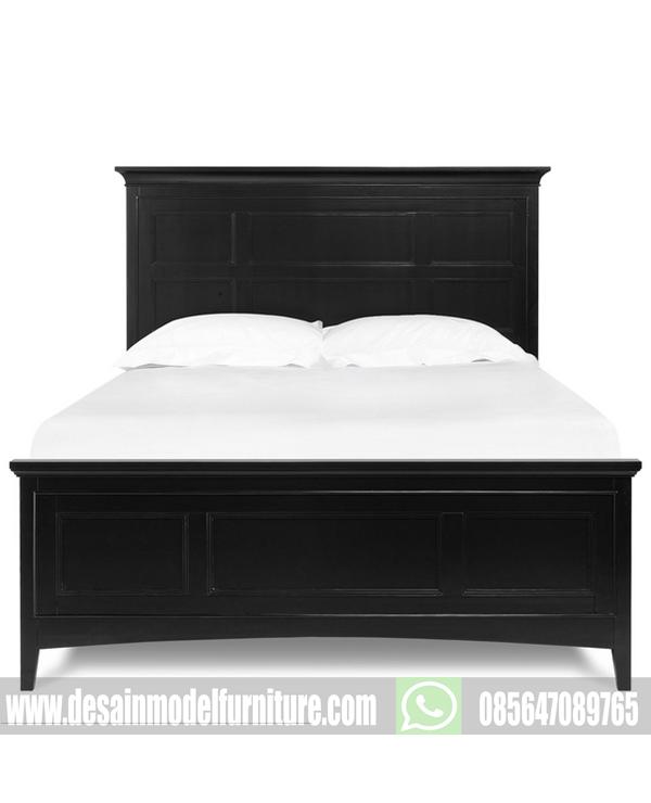 Dipan jati minimalis terbaru warna hitam