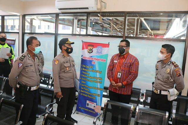 Ombudsman RI Perwakilan Papua Periksa Pelayanan Publik Polresta Jayapura Kota