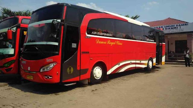 Harga Tiket Bus Damri Rajabasa Bandar Lampung