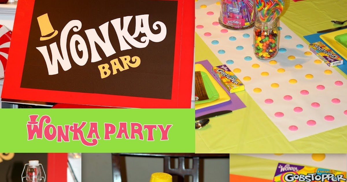 Invite and Delight: Willy Wonka Party - It's Candy Time!