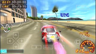 Asphalt: Urban GT 2 PSP Highly Compressed