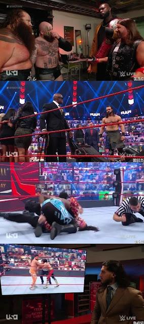 Download WWE Monday Night Raw 480p HDRip 7th June 2021 300MB || MoviesBaba 1