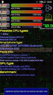 CPU Identifier Samsung Galaxy S7 HDC Ultra