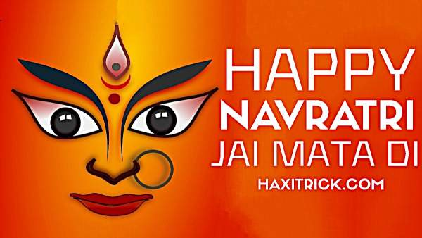 Happy Navratri and Jai Mata Di Images Photos English
