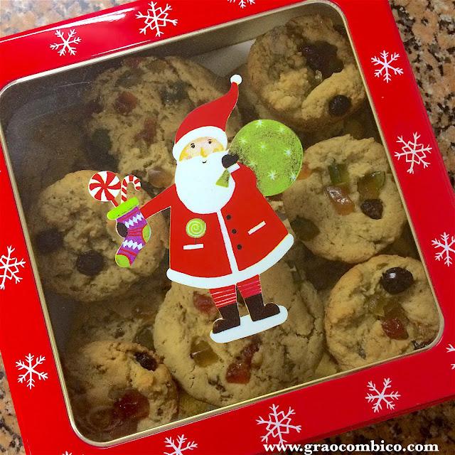 cookies natalinos