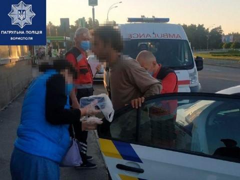 Правоохоронці Борисполя знайшли та доставили чоловіка, якого з минулого тижня шукають рідні