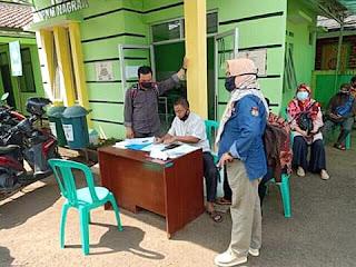 Dukung Pilkada Bebas Covid-19 Kecamatan Sukabumi Rapid Tes Petugas PPDP