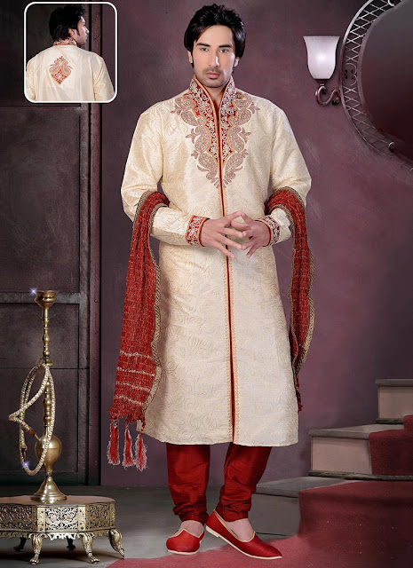 Magnificent Art Dupion Silk Kurta Pyjama