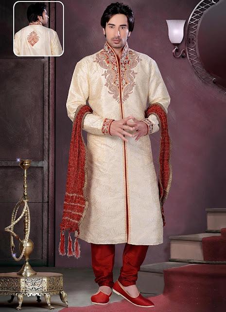 Magnificent Art Dupion Silk Kurta Pyjama