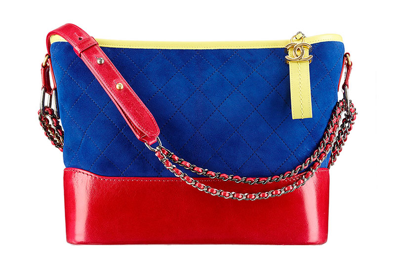 Chanel Gabrielle Hobo Bag in Red/Blue/Yellow $3,600