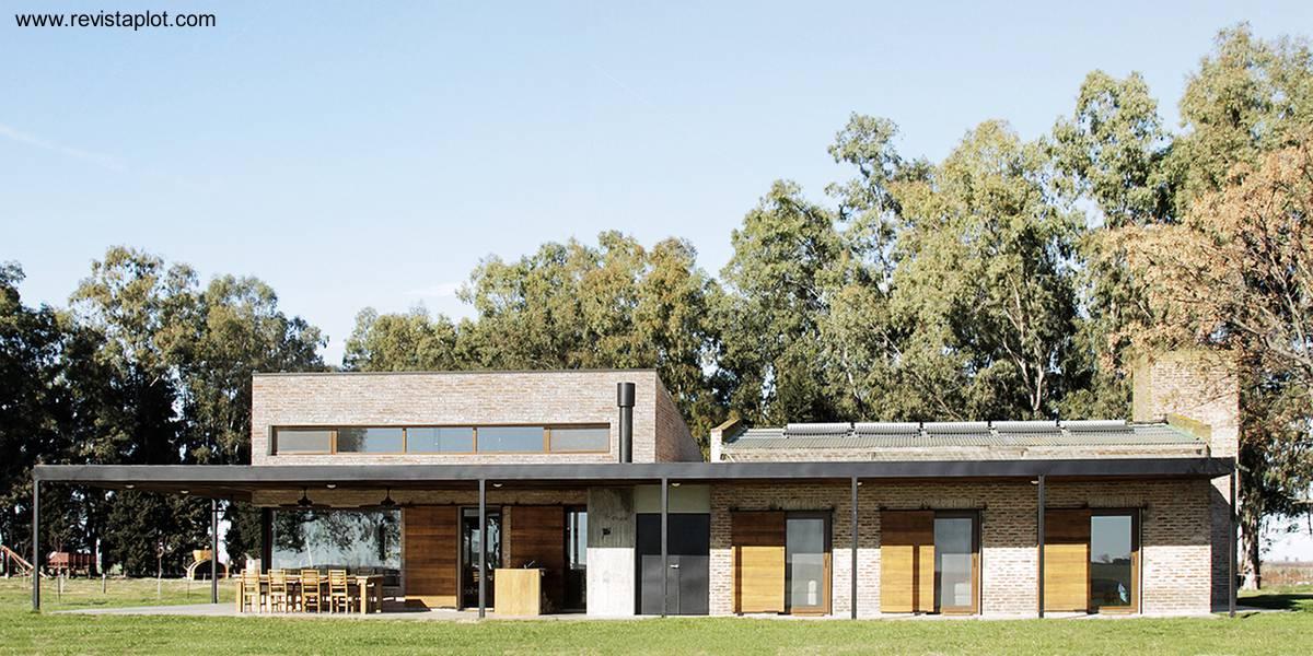 Arquitectura de casas nuevas casas de campo en argentina for Casa argentina