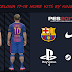PES 2017 Barcelona 17-18 Home Kit