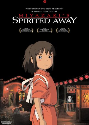 Spirited Away (2001) Dual Audio 720p 950MB [Japanese - English] BRRip ESubs