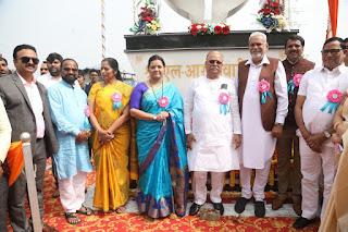 Mumbai : केंद्रीय कृषि मंत्री परसोत्तम रुपाला ने किया तिवारी चौक का उद्घाटन