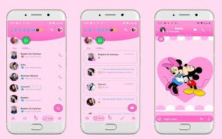 Minnie & Mickey Love Theme For YOWhatsApp & Fouad WhatsApp By Leidiane