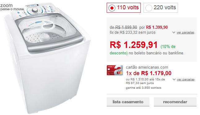 http://www.americanas.com.br/produto/7339225/lavadora-de-roupas-electrolux-15kg-blue-touch-ultra-clean-lbu15-branco?loja=02&opn=EMACOM070216&franq=AFL-03-117316&AFL-03-117316