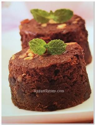 Resep Roti Cake Cokelat Pisang