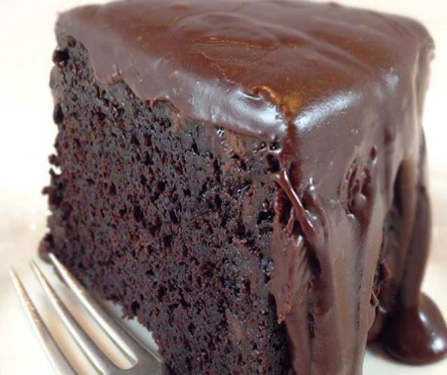 Delicious Brick Chocolate Cake