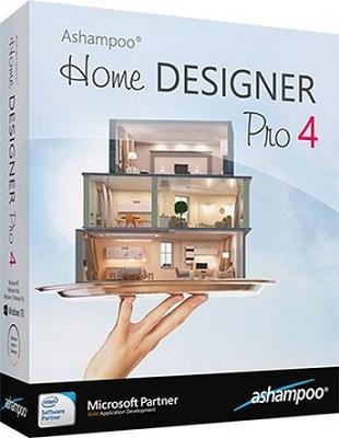 Ashampoo Home Designer Pro 4.1.0 poster box cover