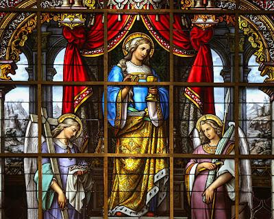 Santa Maria Madalena - Imagem, vitral, #2