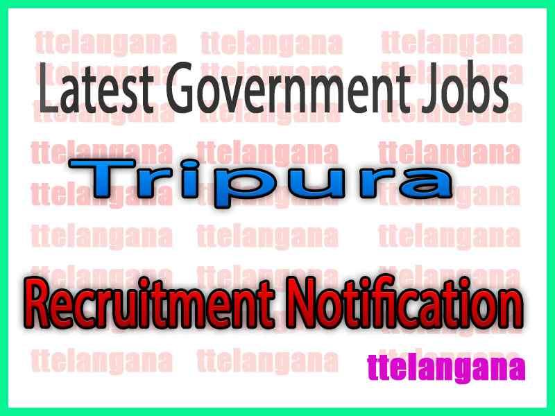 Latest Tripura Government Job Notifications