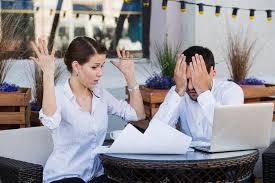problemas no ambiente de trabalho