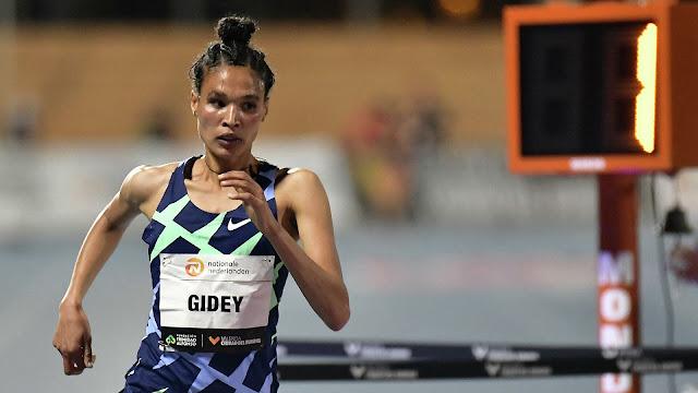 Récord mundial de los 10.000 metros batido nuevamente, ahora por Letesenbet Gidey