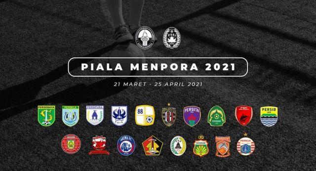 Jadwal Piala Menpora 2021 Lengkap, Siaran Langsung Indosiar