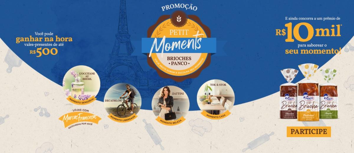 Promoção Petit Moments Panco 2021 Brioches