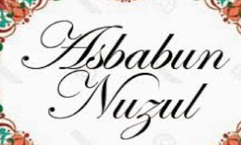 Fungsi Asbabun Nuzul