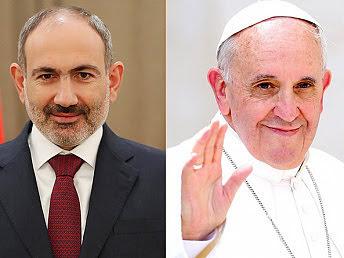 Dialogo Nikol Pashinyan Papa Francisco