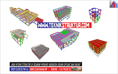 Jasa Gambar Struktur IMB Gedung Dan Rumah