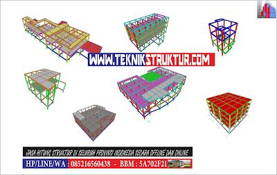Jasa Hitung Struktur Konstruksi Bangunan Rumah