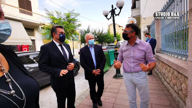 Την Τουριστική Σχολή Άργους επισκέφθηκε ο Υφυπουργός Τουρισμού