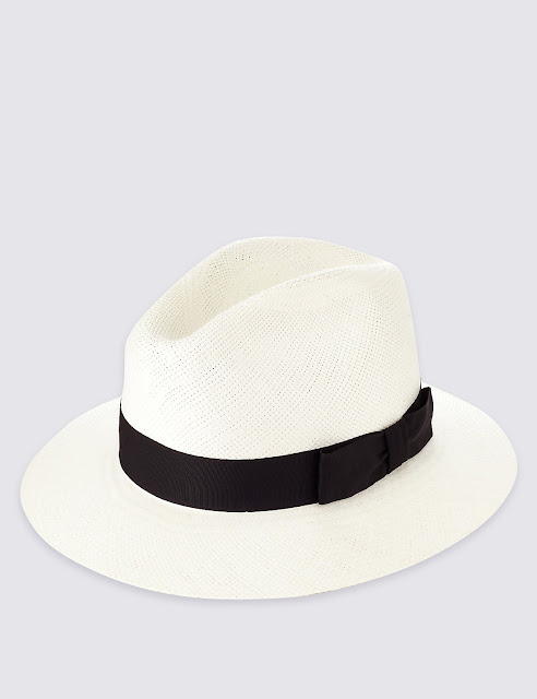 marks and spencer handwoven panama hat