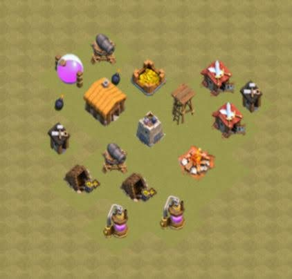 Base COC TH2 War 2