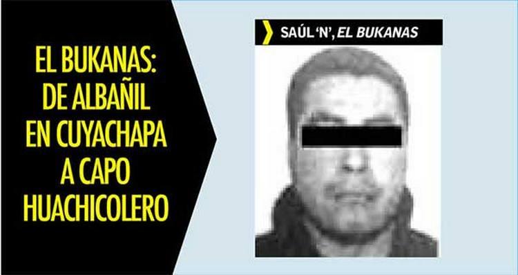 El Bukanas: de albañil en Cuyachapa a capo huachicolero