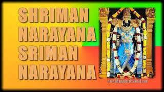 Shriman Narayana Sriman Narayana Lyrics in English