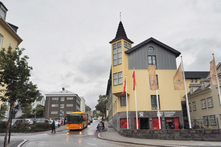Visite de la ville de Reykjavik en Islande