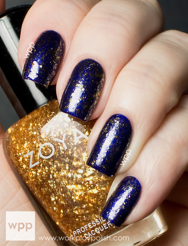 Zoya Maria Luisa (over Zoya Neve) from the Satins Collection