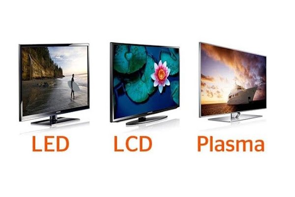 الفرق بين شاشات LCD وLED والبلازما PLASMA