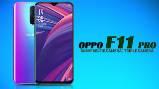 Oppo F11 Pro with 48 Megapixel camera going to launch on 5th March in India