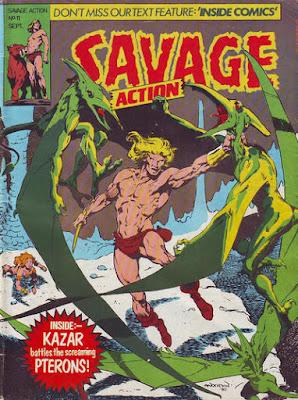 Savage Action #11, Ka-Zar