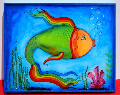 My First Fish Picture Frame Images - origami instructions easy for kids