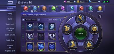 Mobile legend max level emblem