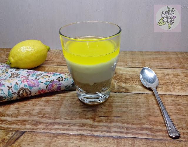Vasitos Veganos de  Limón.