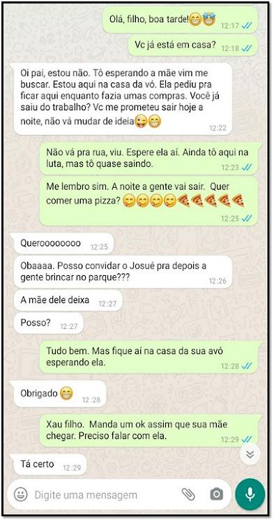 atividade de interpretação - texto de whatsapp